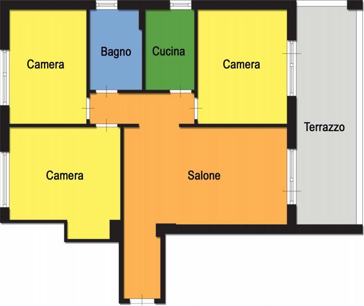 Litoranea sud appartamento in vendita appartamento in for Pianta del piano casa di 800 piedi quadrati